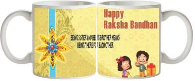 Artist Raksha Bandhan Rakhi MB-1854 Ceramic Mug