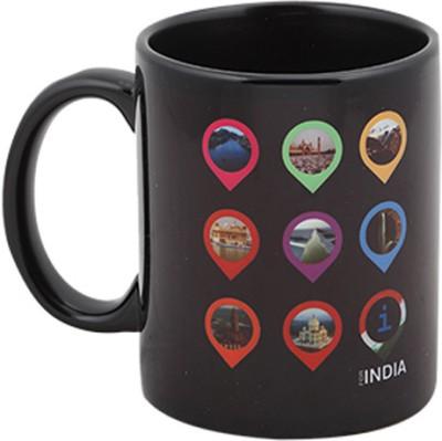 Imagica I For India Logo Ceramic Mug