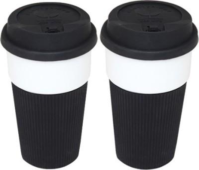 Easyhome Silicon Body Ceramic Mug