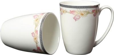 Aspirationz Az-Ds021-2 Pcs  Bone China Mug