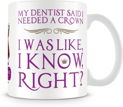 Aunty Acid I need a Crown Ceramic Mug