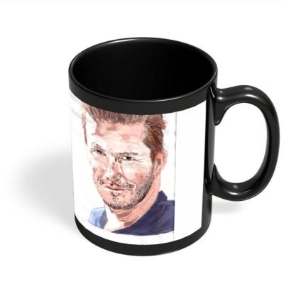 PosterGuy David Beckham Painting Ceramic Mug