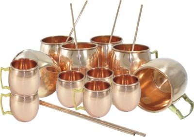 Dakshcraft Handmade Drink set Copper Mug
