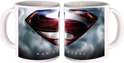 Shopkeeda Man Of Steel Ceramic Mug