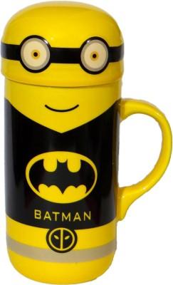 Satyam Kraft Batman Minion  Big Size - 400ml Ceramic Mug