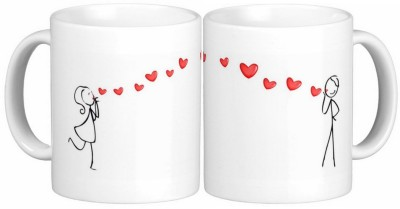 Exoctic Silver Love Couple Anniversary 011 Ceramic Mug