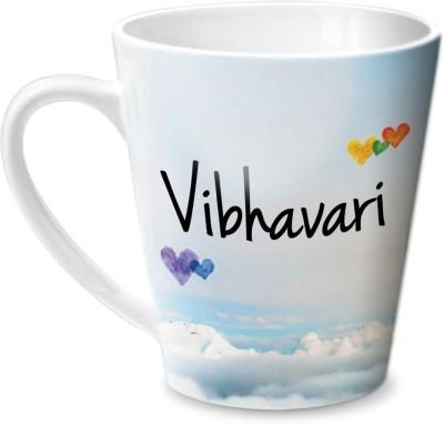 Hot Muggs Simply Love You Vibhavari Conical  Ceramic Mug