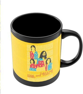PosterGuy Beatles| Take a Sad Song and Make It Better Typography Band Inspired Pop Art Ceramic Mug