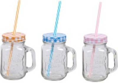Smile2u Retailers Mason Jar Glass Mug