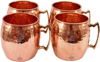 Indian Art Villa IAV-C-2-118A Copper Mug