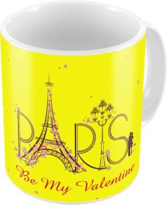 Home India Designer Romantic Printed Coffee s Pair 658 Ceramic Mug
