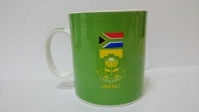 Indigo Creatives Official ICC T 20 Cricket World Cup South Affrica Team Logo Ceramic Coffee  Ceramic Mug