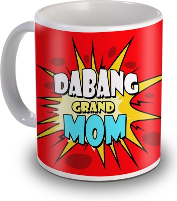 Sky Trends Dabang Grand Mom Gifts For Mother's Day Ceramic Mug