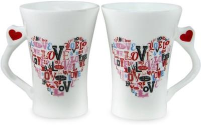Archies Twin Heart Ceramic Mug