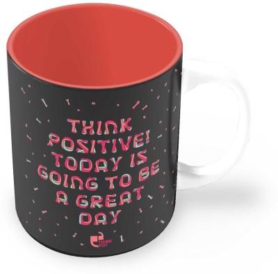 Thinkpot Think Positive! - Ceramic Mug