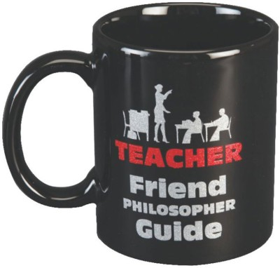 Red Moments Teacher Ceramic Mug
