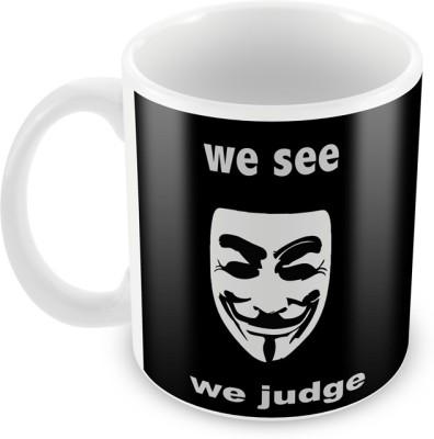 AKUP We-See-We-Judge Ceramic Mug
