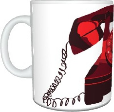 Creatives Telephone Ceramic Mug