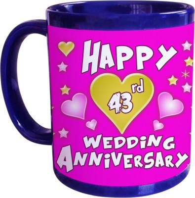 Sajawat Homes 43rd Wedding Anniversary Coffee Ceramic Mug