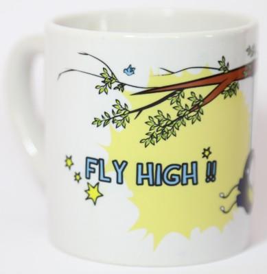 Blitzen 6oz-FHBW Ceramic Mug