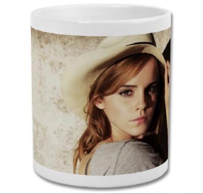 ShopTwiz Beautiful Emma Watson Ceramic Mug