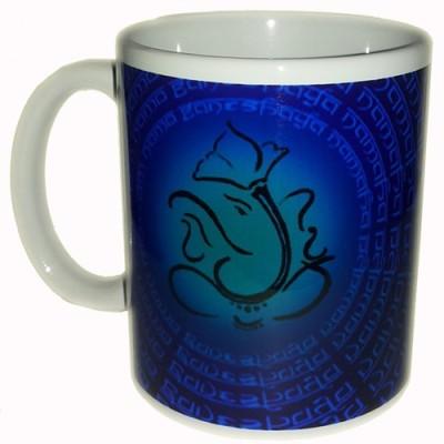 Adak Ganpati Bappa Ceramic Mug