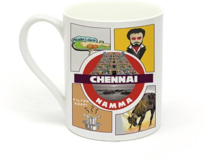 Sowing Happiness Namma Chennai Ceramic Mug