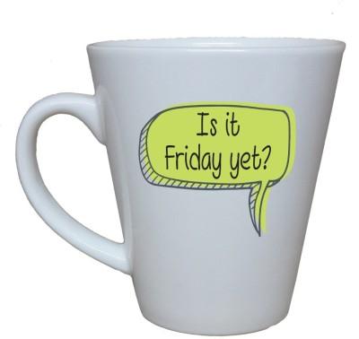 Thelostpuppy Fridayyetsmg Ceramic Mug
