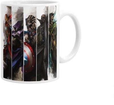 Hainaworld All Avengers Coffee  Ceramic Mug