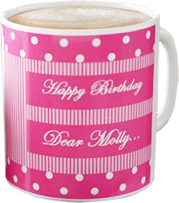 DreamBag Personalized White Ceramic Mug