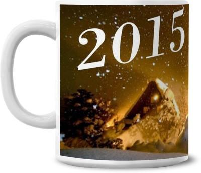 Lovely Collection New Year Celebrations Ceramic Mug