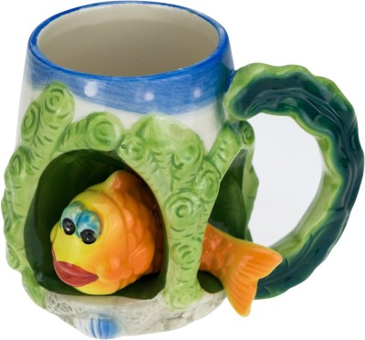 Avenue Fish 3 Ceramic Mug