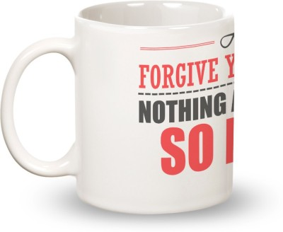 Posterboy Forgive Your Enemies - Oscar Wilde Ceramic Mug