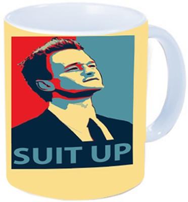Rawkart suit up Ceramic Mug