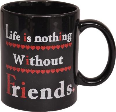 Indigo Creatives Lets Be Friends Valentine Classy Gift Cup Mug