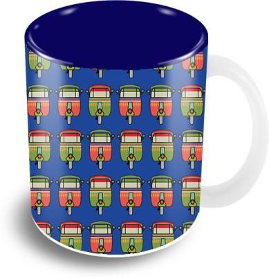 Thecrazyme Auto Ceramic Mug