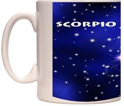 Onlineworld Zodiac Coffee – White – Scorpio – 08 Ceramic Mug
