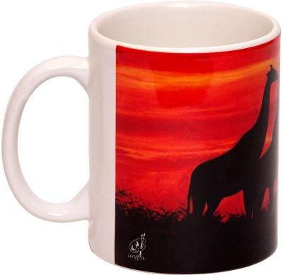 IMFPA Wild Giraffe Ceramic Mug