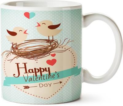 Pentagraphics Chidiya Love Ceramic Mug