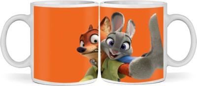 SBBT Nick Wild Judy Ceramic Mug