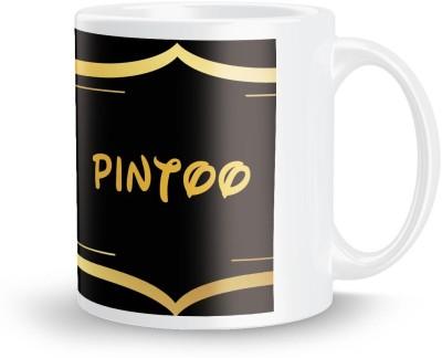 posterchacha Pintoo Name Tea And Coffee  For Gift And Self Use Ceramic Mug