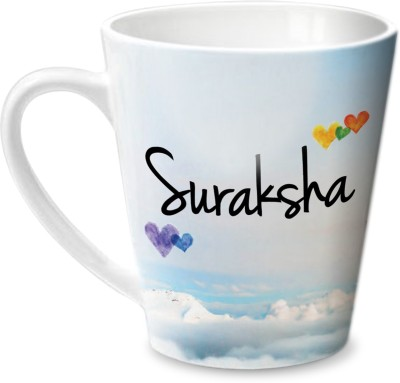 Hot Muggs Simply Love You Suraksha Conical  Ceramic Mug