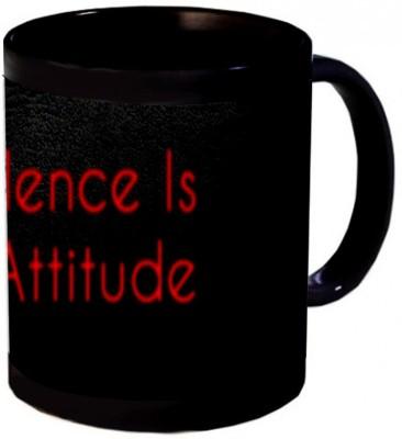 Shopmania My silence my attitude Ceramic Mug