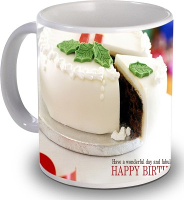 Print Helllo Happy Birthday R174 Ceramic Mug