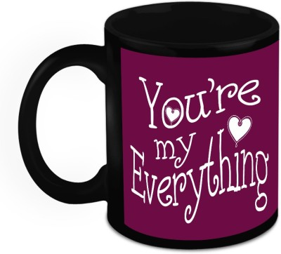 HomeSoGood Gift For Him/Her - You Are My Everything Ceramic Mug