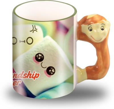Presto Animal handle  for Friendship Day for your Best friend Ceramic Mug