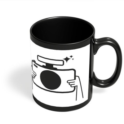 PosterGuy Photographer Camera, Minimal, Photographer, Photography, Photo, Capture, Illustration, Cartoon, Inspiration, Insp Ceramic Mug