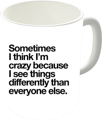 The Fappy Store See Things Ceramic Mug