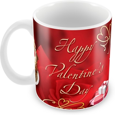 Fashion Envoy Mesmerizing Red Valentine  Ceramic Mug