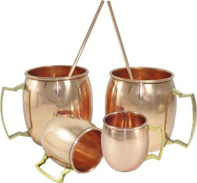 Dakshcraft Plain drinkware set Copper Mug